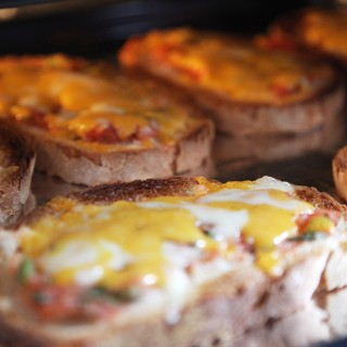 California style cheese toast