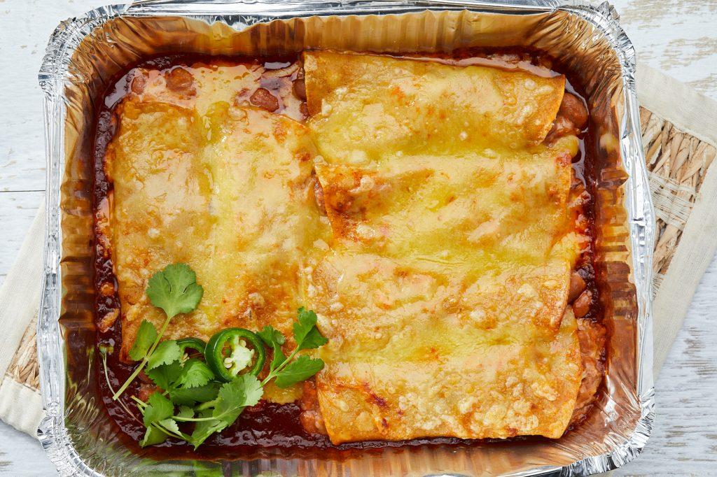 enchilada trays